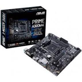 ASUS PRIME A320M-K w/ DDR4 2666, 7.1 Audio, Gigabit LAN, PCI-E x16