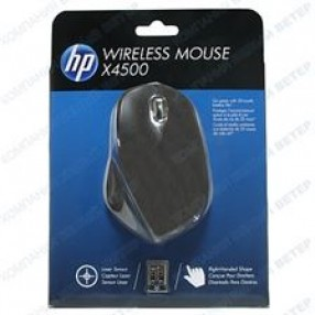 HP X4500 LASER XWIRE BLACK MOUSE