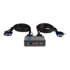 2 PORT USB KVM SWITCH W/AUDIO