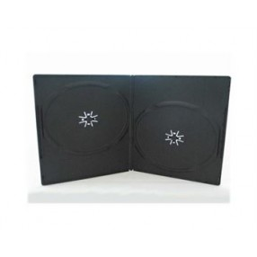 DVD CASE SLIM DOUBLE 100PACK