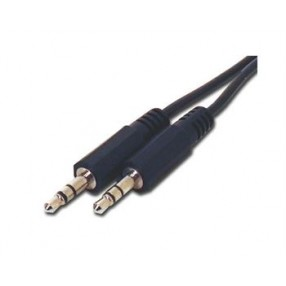 STEREO AUDIO CABLE M/M 6'