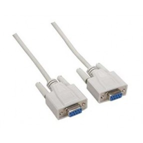 MONITOR/MOUSE CABLE DB9F/F 6'