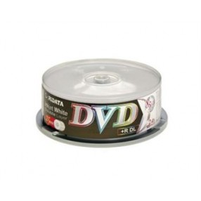 DUAL LAYER DVD DISK 25PK