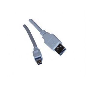 USB 2.0A MALE/MINI USB 5P PLUG CABLE 6'