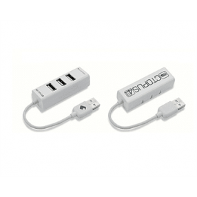 ELEPHANT 4PORT USB2.0 OCTOPUS HUB WHITE