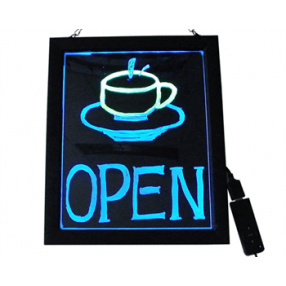 LED WRITE BOARD 60X70CM
