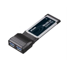 DLINK DUB-1320 USB3.0 EXPRESSCARD NB ADAPTER 2PORT
