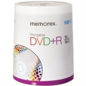 DVD-R 16X PRINTABLE 100PACK