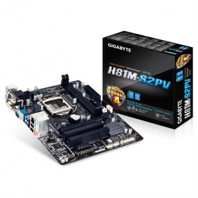 GIGABYTE H81M-S2PV  S1150 PCIE DVI/VGA