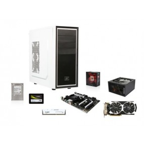 AMD FX-8320 Vishera 8-Core 3.5GHz CPU, MSI 970A SLI Krait MOBO,