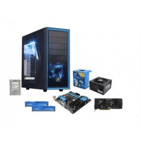Intel i5-4690 4-Core 3.5 GHz CPU, ASRock H97M Pro4 MOBO, HyperX