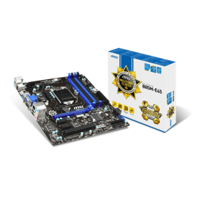 MSI B85-E45 SK1150 4*DR3 1*PCIE*16 2*PCI-EX1 HDMI DVI BGA