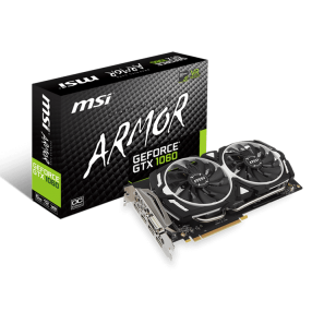 MSI ARMOR GEFORCE GTX 1060 6GB DDR5