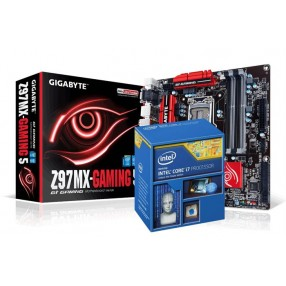 INTEL i7-4790/GIGABYTE GA-Z97MX GAMING 5W DDR3 1600 7.1AUDIO