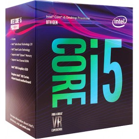 Intel Core™ i5-8400 Processor, 2.8GHz w/ 9MB Cache