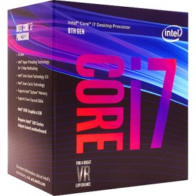 Intel Core™ i7-8700 Processor, 3.2GHz w/ 12MB Cache