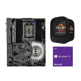 AMD Ryzen Threadripper 1950X 16-Core 3.4 GHz CPU + ASRock X399 Taichi MB + Windows 10 Pro 64-bit  1920X + X399 + Windows 10 Pro