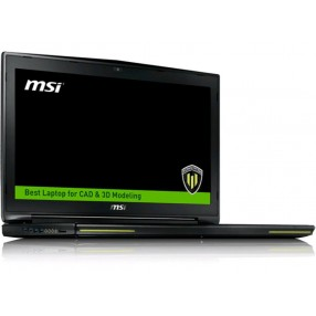 MSI WT72 2OL-1400US, QUADRO K4100M 4GB  Alumium Black, 17.3 Full HD, 1920x1080 16:9, Core i7-4720HQ, HM87, NVIDIA Quadro K4100M 3D, 4GB GDDR5, DDR III 8GBx4, Super Raid 2-384GB SSD (M.2)+1TB (SATA) 7200rpm