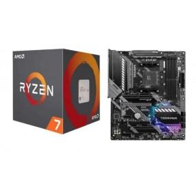 AMD Ryzen™ 7 3700X Processor, 3.6GHz w/ 36MB Cache.MSI MAG X570 TOMAHAWK WIFI w/ DDR4 Wi-Fi 6, 2.5G LAN, CrossFire